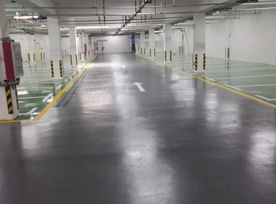 地下车库环氧亚洲城澳门官方网案例
