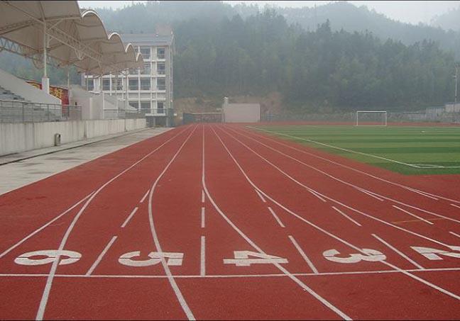 vwin彩票平台第九中学塑胶跑道