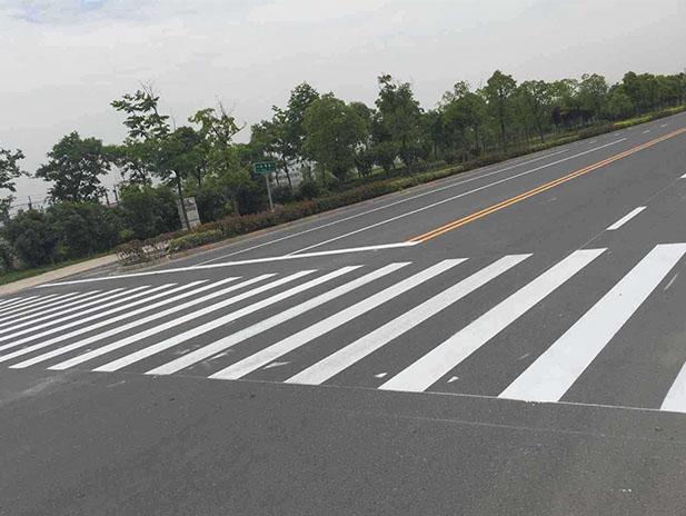 106国道道路标线
